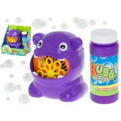 Bańki mydlane automat do baniek hipopotam hipcio ..