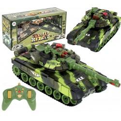 Czołg RC War Tank 9993 2.4 GHz kamuflaż leśny