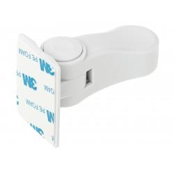 Zabezpieczenie do klamki blokada drzwi biały ..