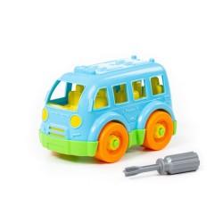 Klocki Mały autobus + śrubokręt 15el. 78995 ..