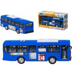 Autobus Szkolny Gimbus 1:20 niebieski