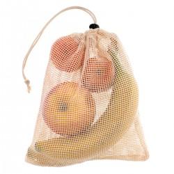 Woreczek wielorazowy ekologiczny na warzywa owoce 30x35cm