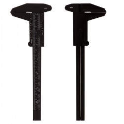 Suwmiarka czarna manualna 0-15 cm