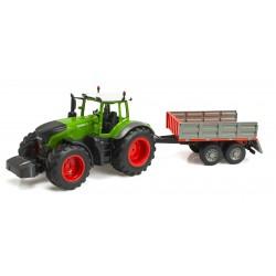 Traktor RC 2.4G 4CH z przyczepą 1:16 ..