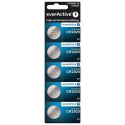 Bateria everActive litowa CR2025 blister 5szt. ..