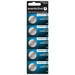 Bateria everActive litowa CR2016 blister 5szt. ..