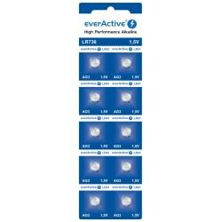 Bateria everActive Alkaline G3 LR736 blister 10szt. ..