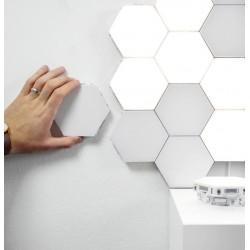 Lampa modułowa LED ścienna 12szt zimny biały ..