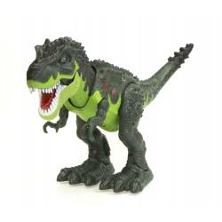 Dinozaur T-REX elektroniczny chodzi ryczy zielony ..