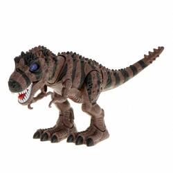 Dinozaur T-REX elektroniczny chodzi ryczy brązowy ..