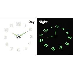 Zegar ścienny fluorescencyjny 50-60cm 12 cyfr ..