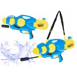 Pistolet na wodę wyrzutnia wodna 2400ml niebieski ..