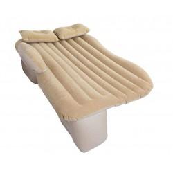 Materac dmuchany łóżko samochodowe 130x80cm beżowy