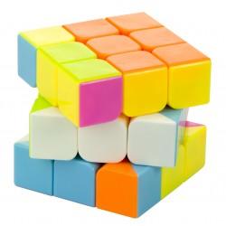 Gra logiczna Kostka łamigłówka 3x3 neon 5,65cm ..