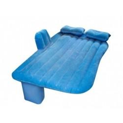 Materac dmuchany łóżko samochod 130x80cm niebieski